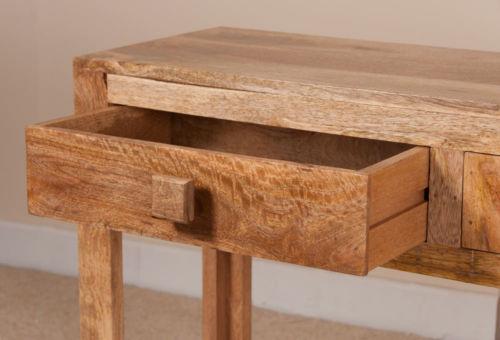 Consolle etnica legno massello naturale Outlet mobili etnici