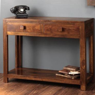 Consolle etnica legno massello Outlet mobili etnici shop on line