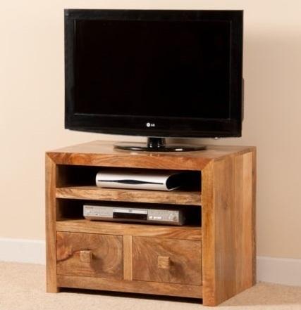 Mobile porta tv etnico legno naturale etnico outlet mobili etnici - Mobile porta tv legno ...