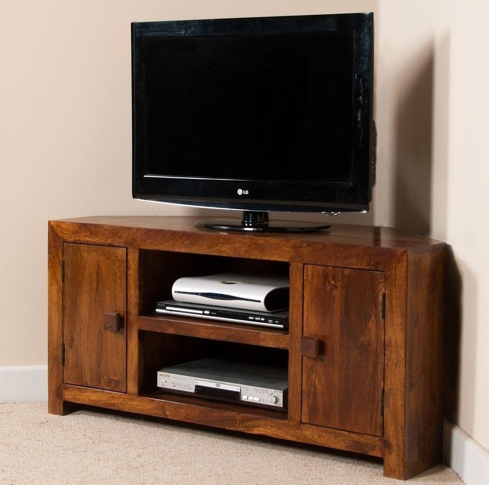 Porta tv ad angolo mobile porta tv etnico legno angolare - Mobile porta tv legno ...