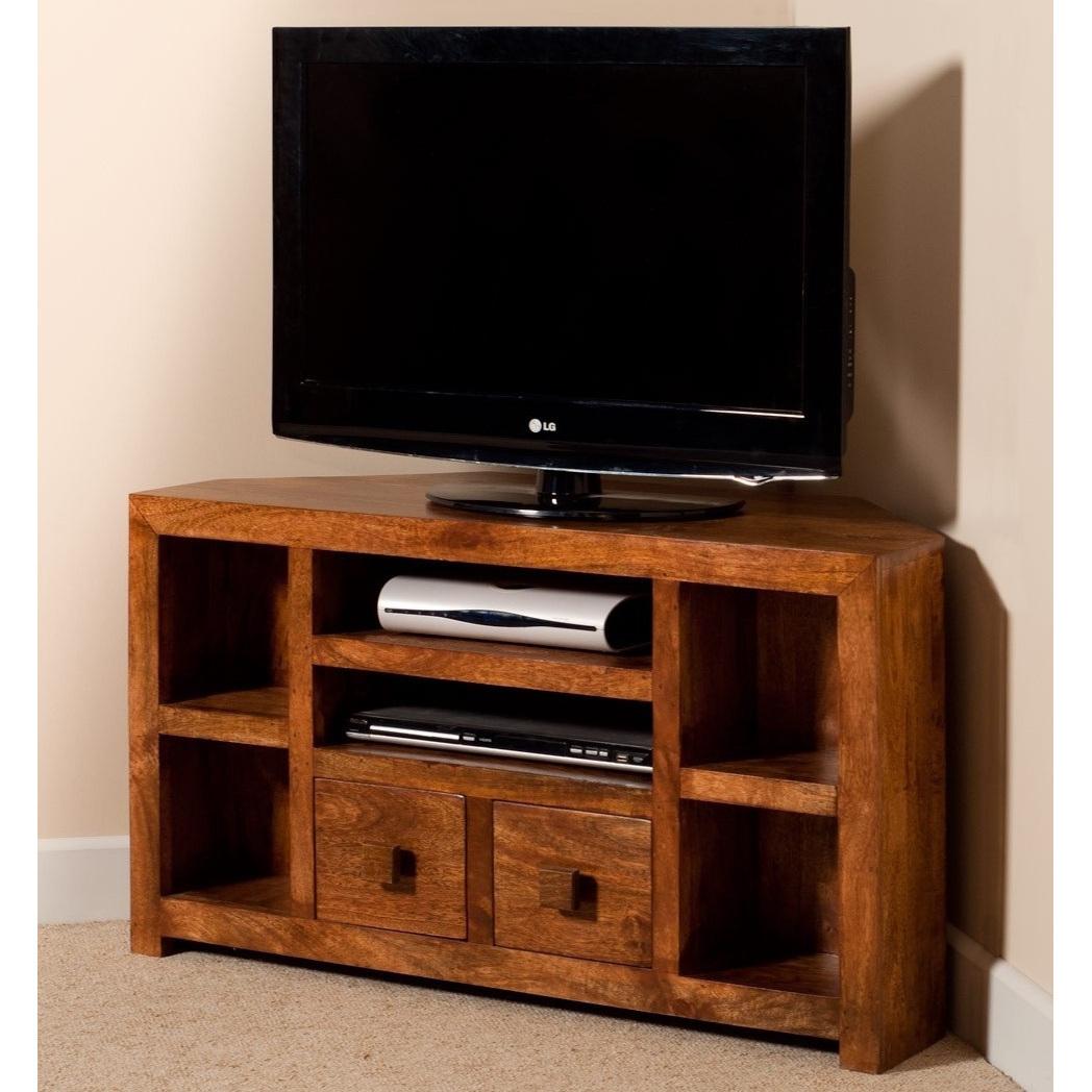 Mobile porta tv etnico legno ad angolo Outlet mobili etnici