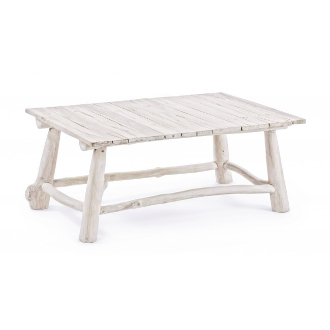 Tavolino salotto bianco shabby