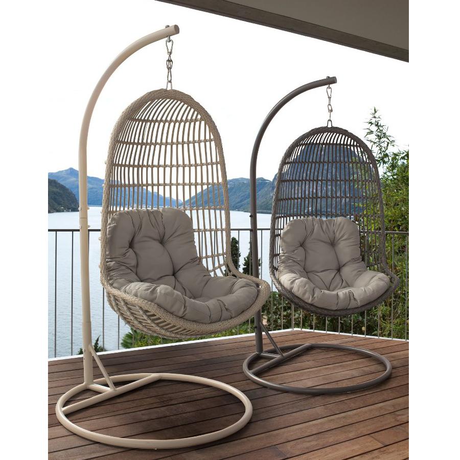 Poltrona a dondolo da giardino mobili etnici provenzali for Mobili da terrazzo in legno