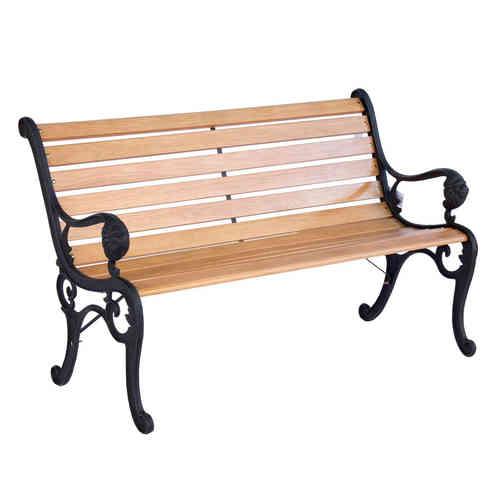 Sedie e panchine in ferro battuto provenzali shabby chic - Panchine da giardino in ghisa ...