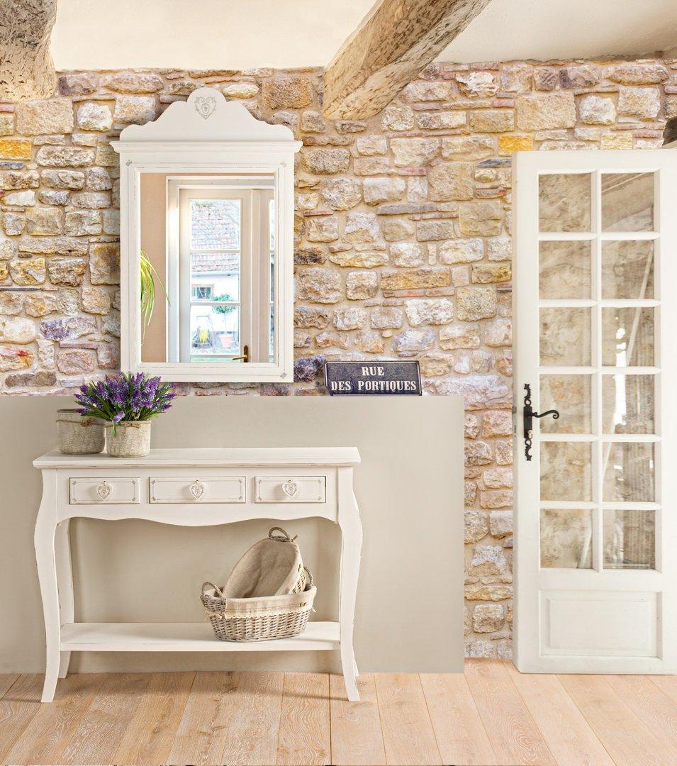 Comodino legno bianco shabby mobili provenzali online for Outlet mobili design on line