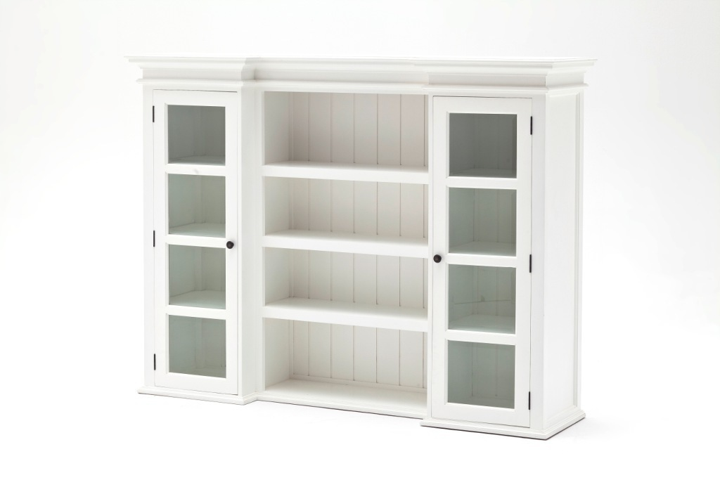 Credenza Bianca Con Vetrina : Vetrina libreria provenzale bianca librerie bianche