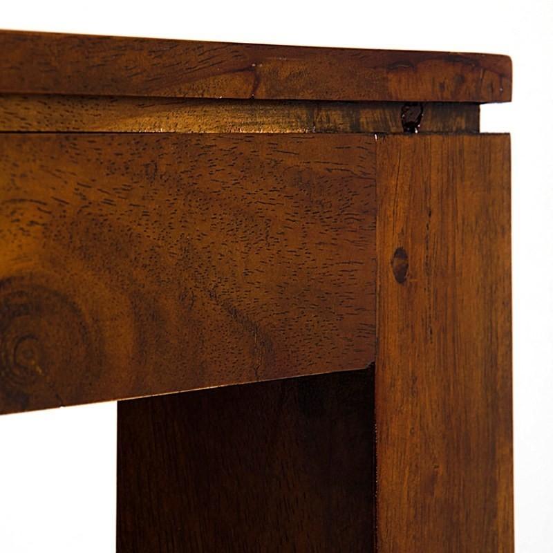 Consolle etnica legno massello etnico outlet mobili for Consolle legno