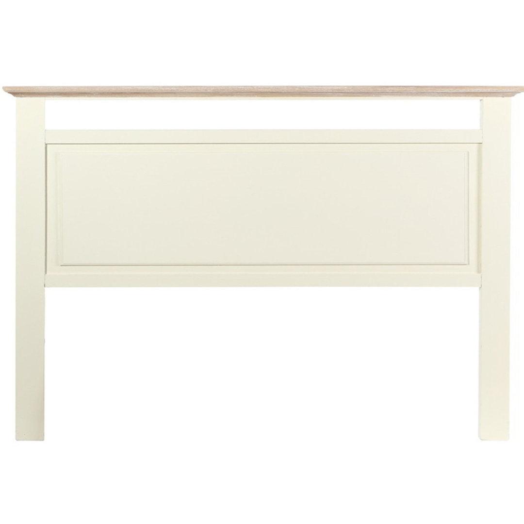 Testata letto provenzale bianco crema etnico outlet mobili for Bianco e dintorni arredamento provenzale