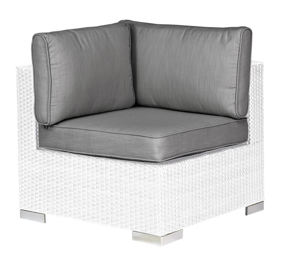 Salotto completo bianco da esterno etnico outlet mobili for Salotto bianco