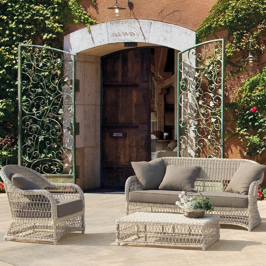 Salotto da giardino provenzale mobili provenzali giardino for Completi da giardino