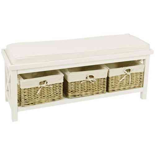 Panca provenzale shabby chic