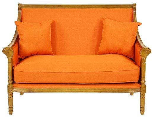 divano francese arancione divani francesi