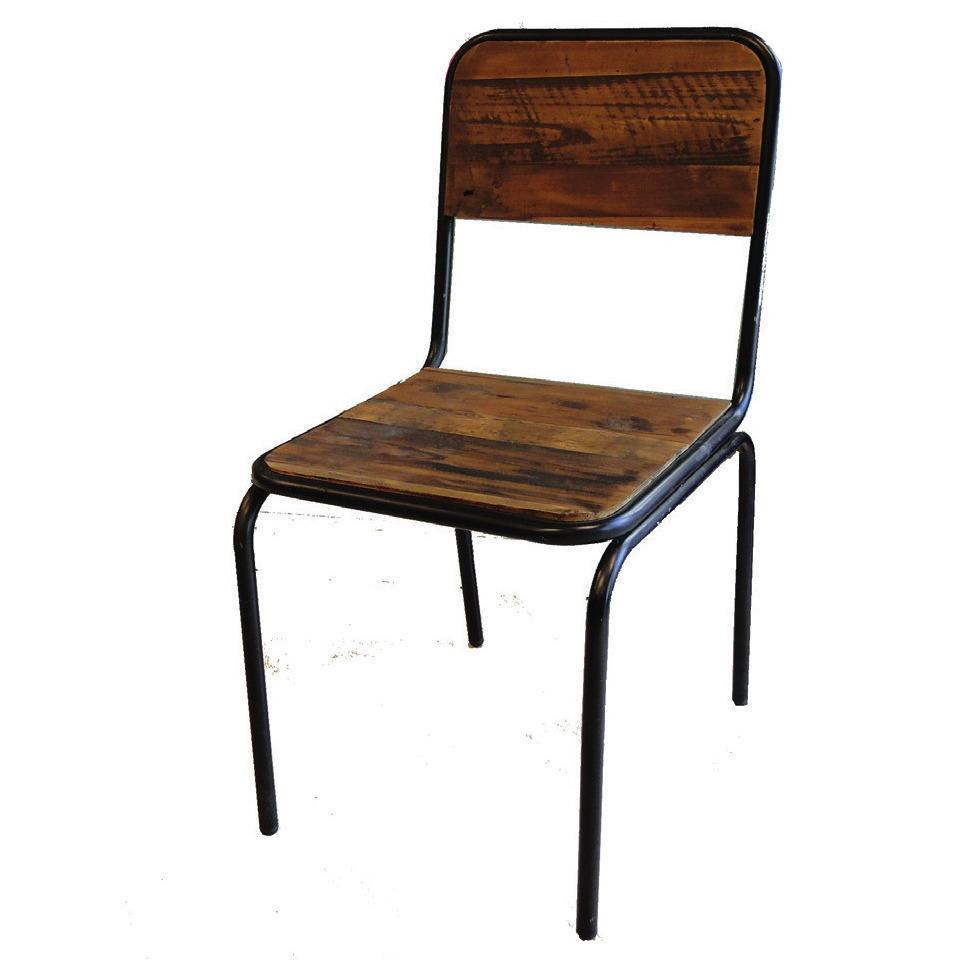 Sedia legno vintage - Etnico Outlet mobili etnici