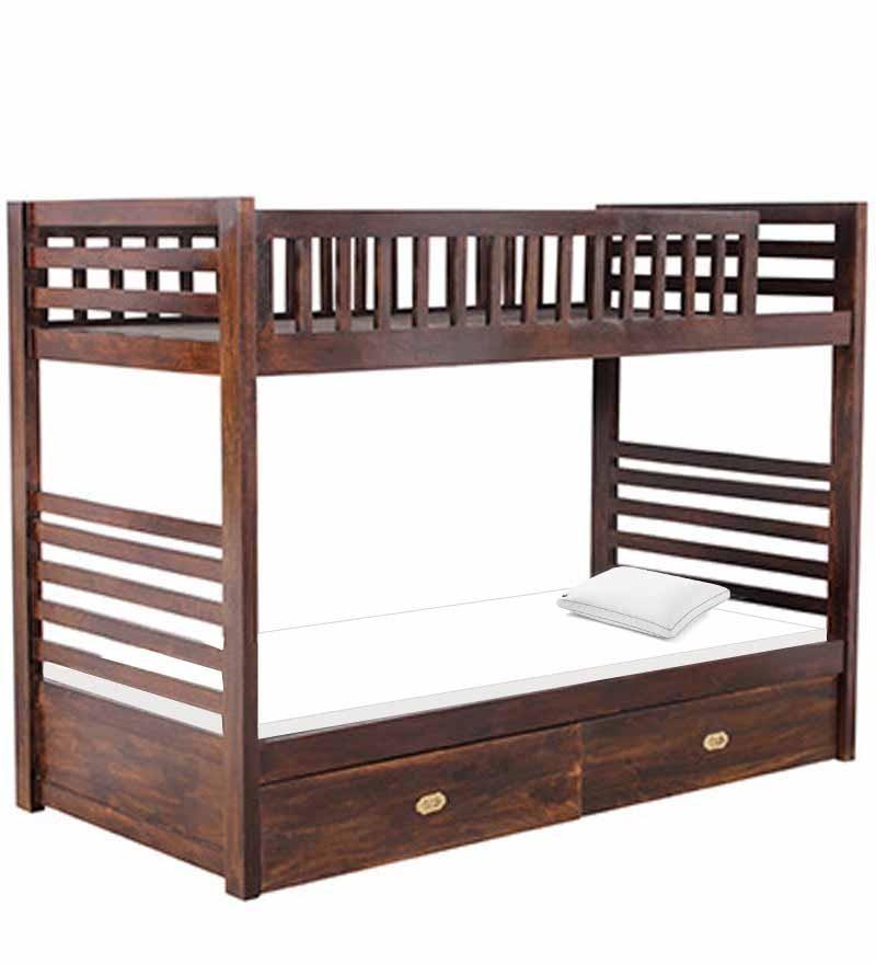 Letto a castello etnico letti massello online - Costruire un letto a castello in legno ...