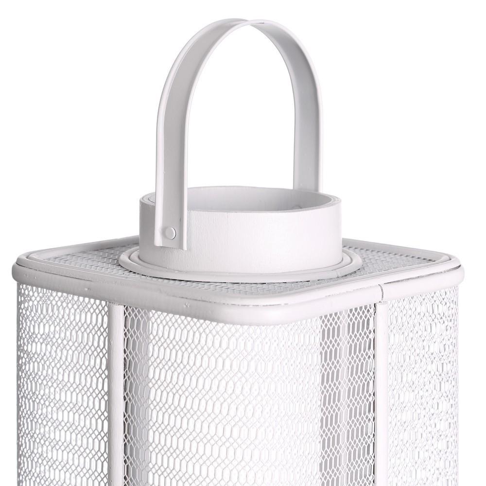 Lanterna provenzale bianca etnico outlet mobili etnici for Etnico outlet