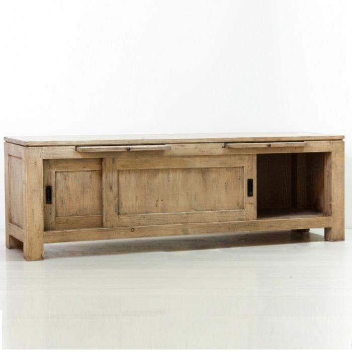 Porta tv provenzale legno naturale mobili provenzali outlet - Dalani mobili porta tv ...