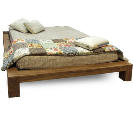 Letto etnico sommier naturale