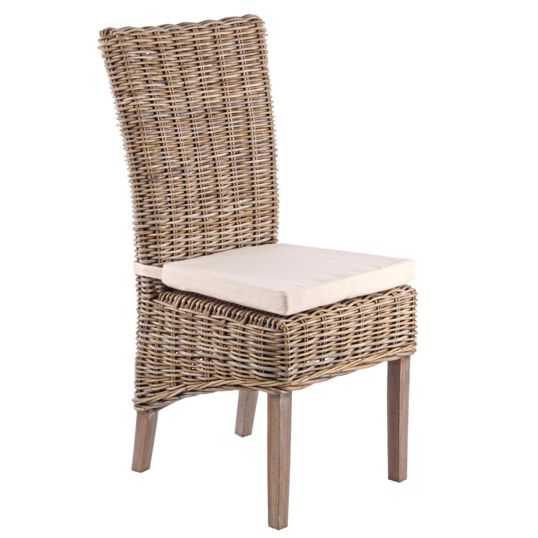 Sedia da giardino in rattan - Etnico Outlet mobili etnici