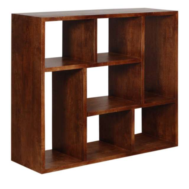 Libreria cubi etnica librerie etniche scontate for Cubi in legno arredamento