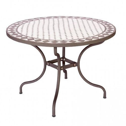 Tavolo Giardino Mosaico Prezzi.Tavoli Ferro Battuto Provenzali Vintage Industrial Shabby Online