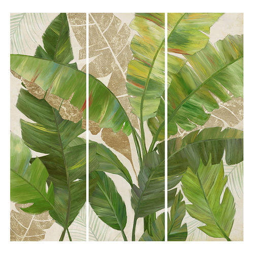 Quadro foglie verde jungle