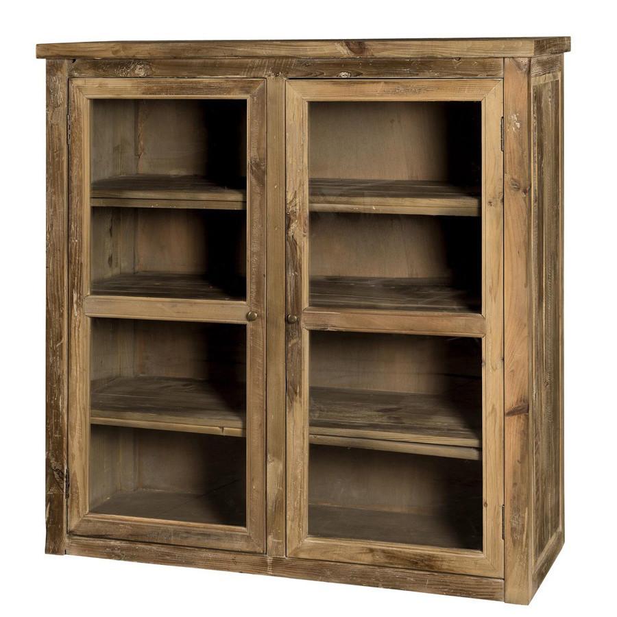 Vetrina legno massello Mobili vintage e industrial online