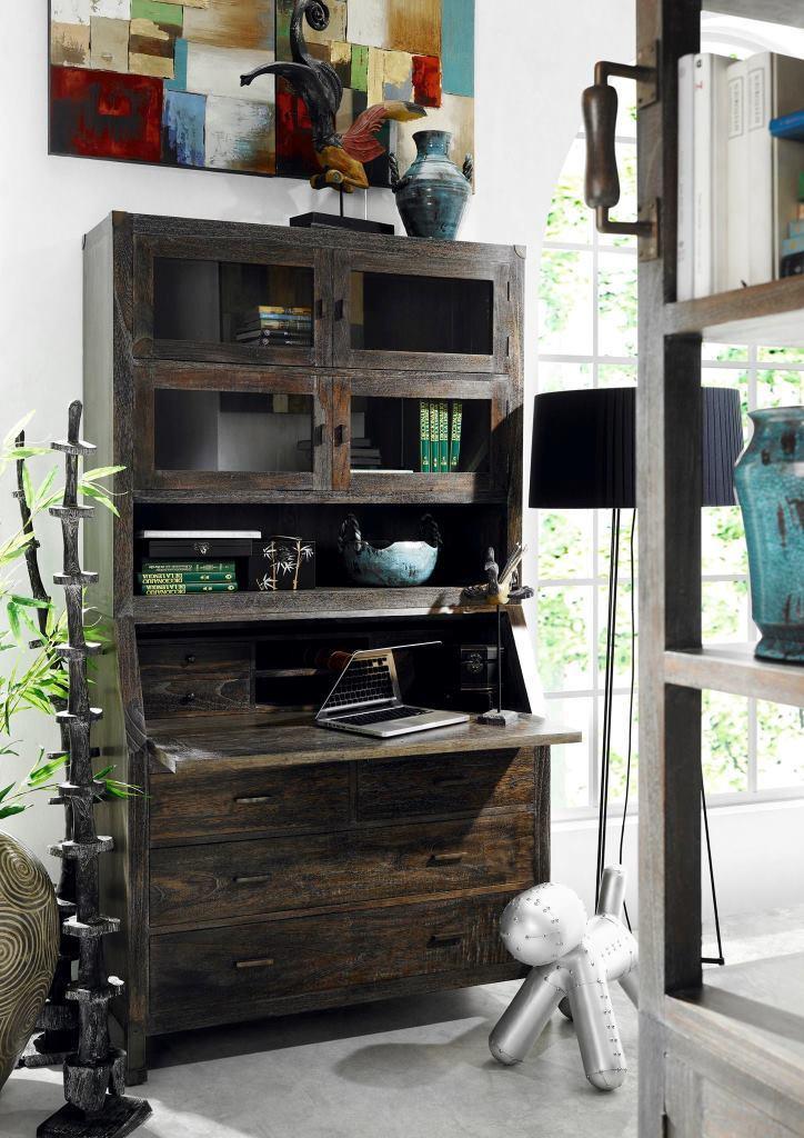 Libreria industrial living mobili stile industriale for Mobili industrial