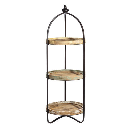 Etagere industrial chic