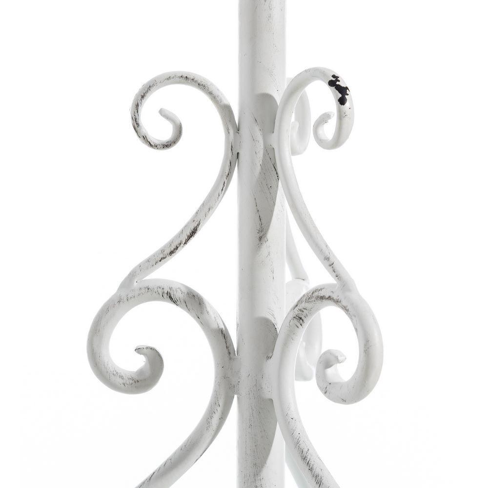 Appendiabiti ferro bianco shabby originale complementi arredo for Complementi d arredo shabby