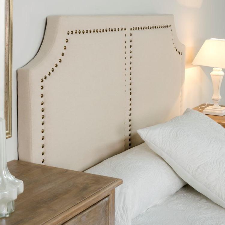 Testata letto imbottita francese Camere da letto provenzali