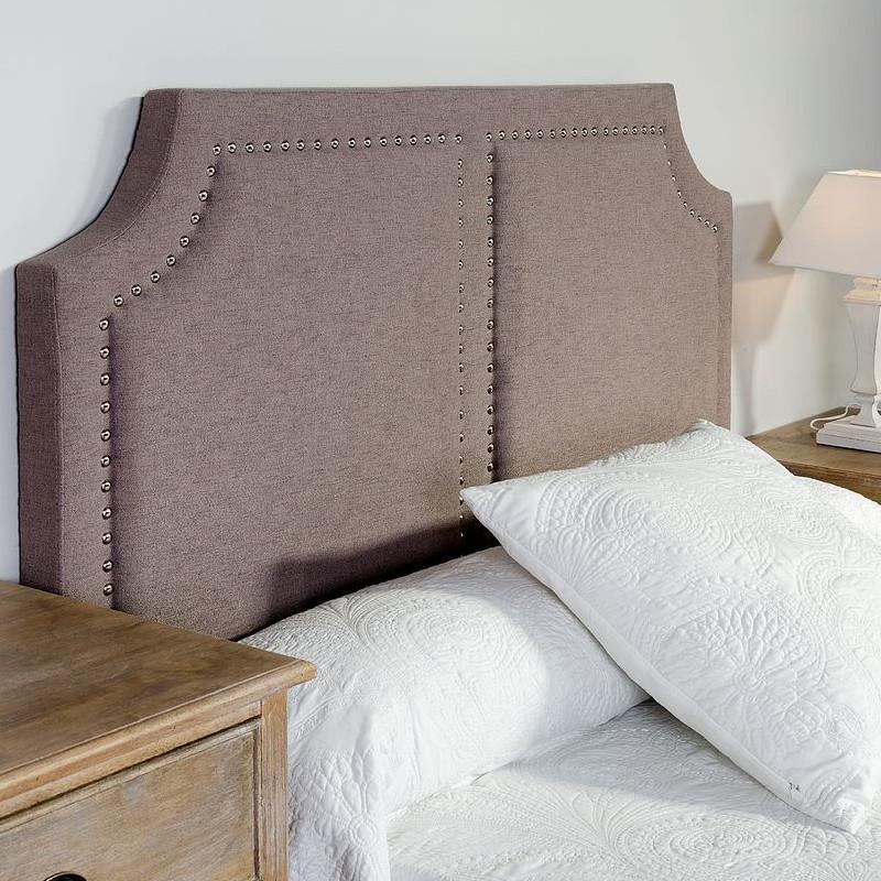 Testata letto imbottita grigio camere da letto provenzali - Testata letto imbottita ...