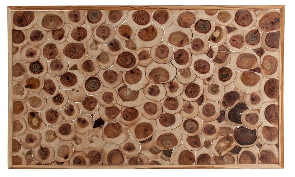 Testata letto etnica tronchi legno mobili etnici testate online