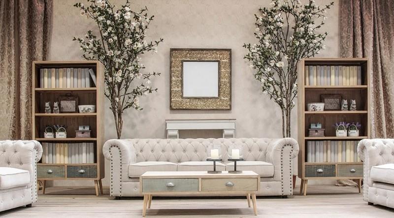 Divano Lino Grezzo : Sofà divano chester chic in lino grezzo divani e poltrone vintage