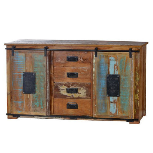 Credenza buffet industrial color