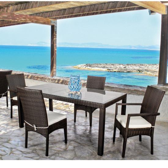 Set Tavolo E Sedie.Set Tavolo E Sedie Giardino Mediterraneo