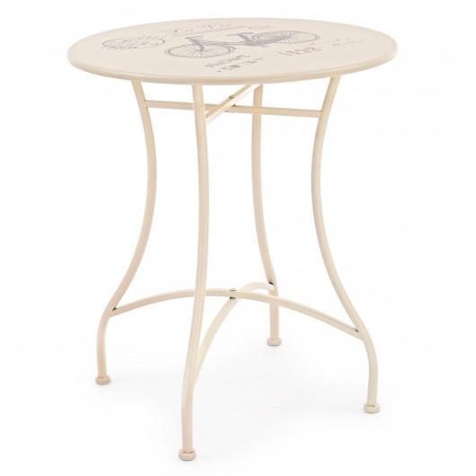 Tavolo vintage ferro per giardino mobili industrial per giardino - Tavolo ferro giardino ...