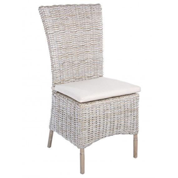 Sedia in rattan decapato sedie per giardini e verande - Sedia in rattan ...