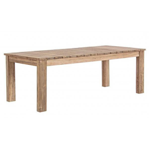 Tavolo rustico allungabile teak giardino