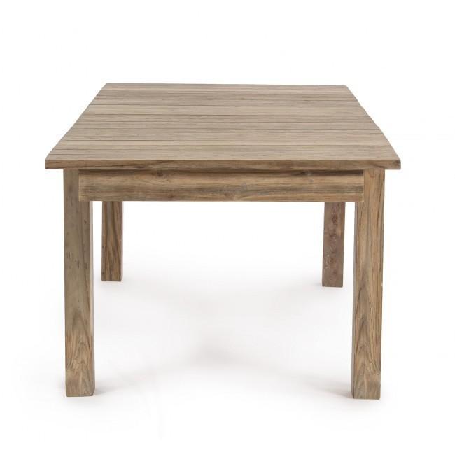 Tavolo rustico allungabile teak giardino Mobili per ...