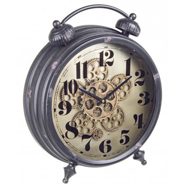 Orologio industrial da tavolo orologi vintage stile industriale - Orologi d epoca da tavolo ...