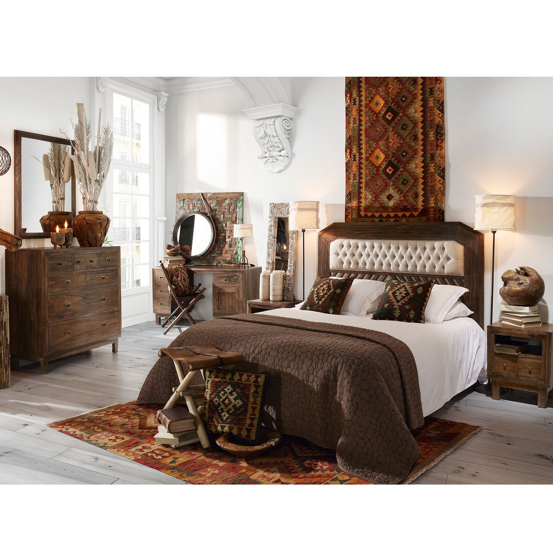 Camera letto completa Maison Ethnique Etnico