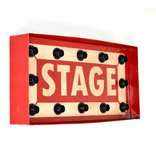 Murale luminoso vintage STAGE