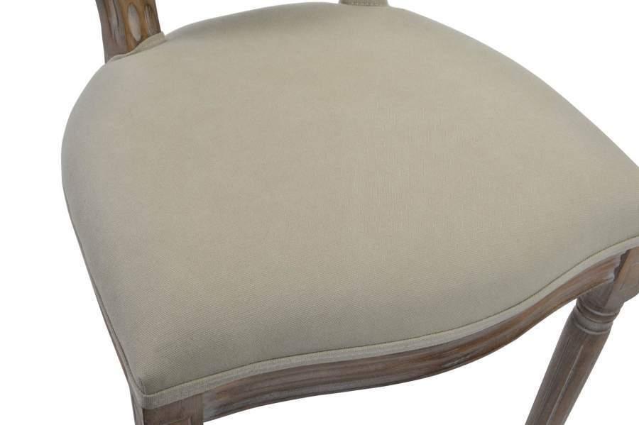 Sedie Francesi Provenzali : Sedia francese capitonnè legno beige sedie provenzali on line