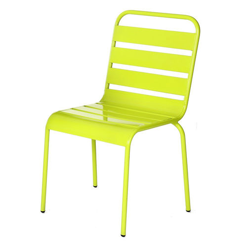 Sedia impilabile Paris verde lime