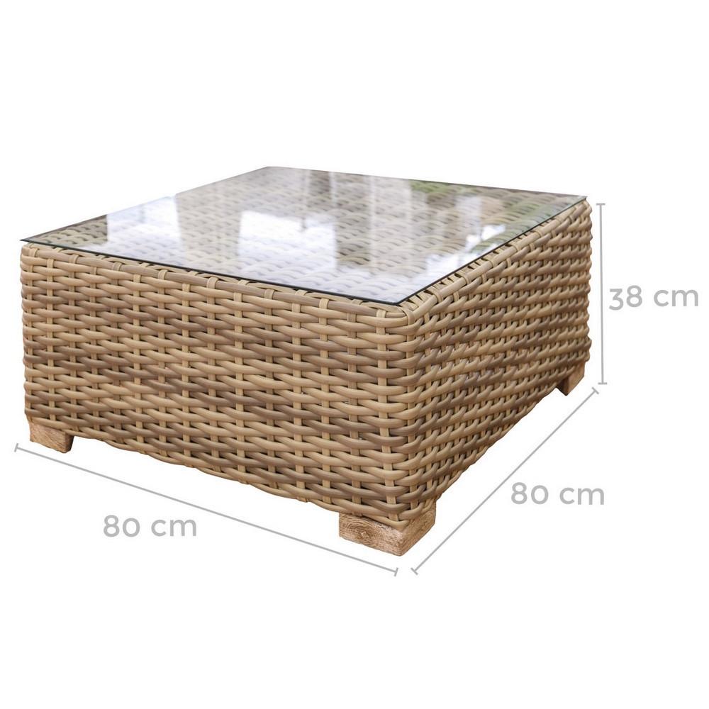 Tavolino rattan giardino etnico mobili etnici per esterno - Rattan giardino ...