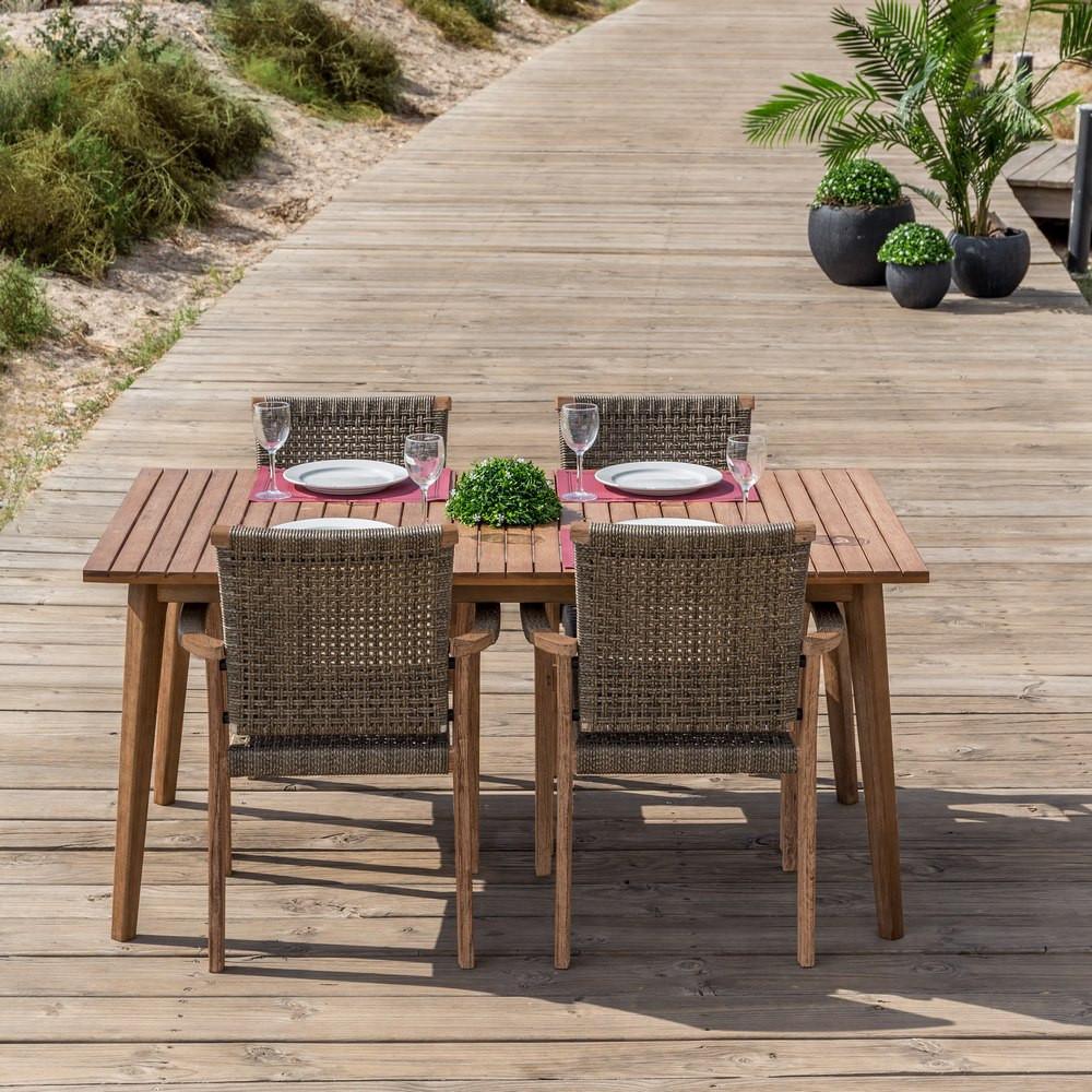 Tavolo vintage legno per esterno vendita mobili offerta outlet - Legno adatto per tavolo ...