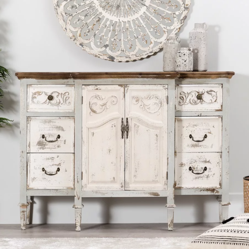 Buffet francese credenza shabby