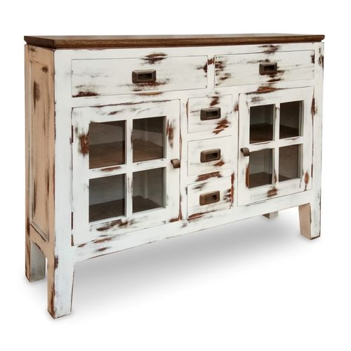 Buffet nordico shabby chic