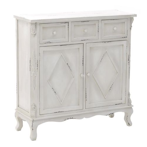 Mobiletto buffet shabby decapato
