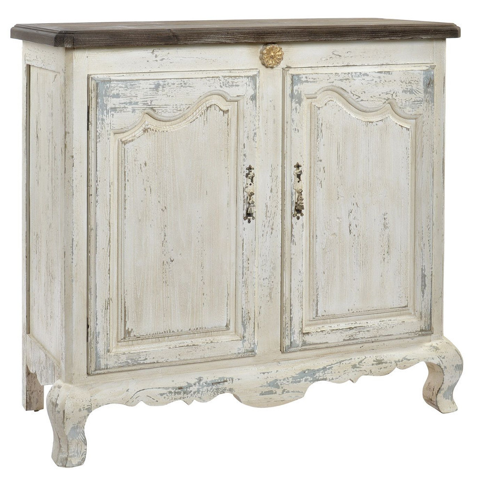 Mobile buffet francese decapato etnico outlet shabby chic for Etnico outlet